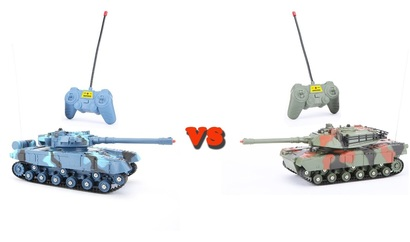 QUNFENG Remote Control Battling VS Panzer Tank RC Infrared